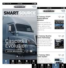 Freightliner SmartSource Application