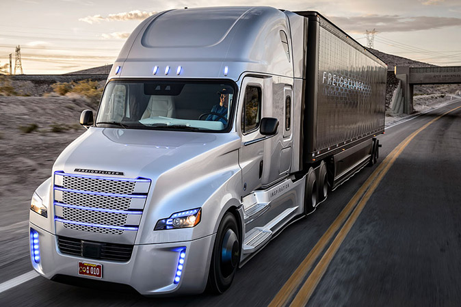 Introducing The Freightliner Inspiration Truck